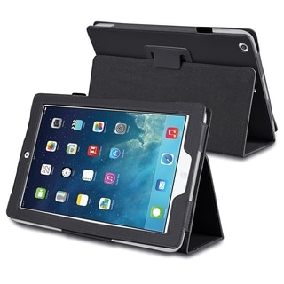BasAcc Black Stand Leather Case for Apple iPad Air