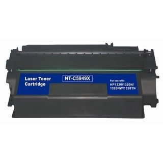 INSTEN Black Toner Cartridge for HP Q5949X 6K,