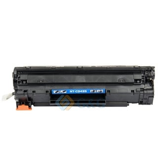 BasAcc Black Toner Cartridge Compatible with HP CB435A 1.5K,