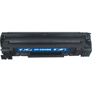 BasAcc Black Toner Cartridge Compatible with HP CB436A 2K,