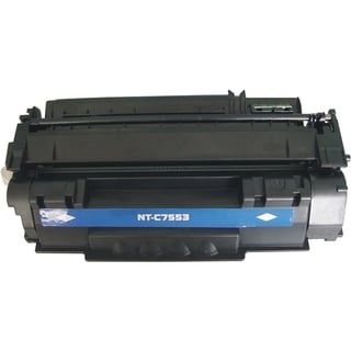 INSTEN Black Toner Cartridge for HP Q7553A 3K,