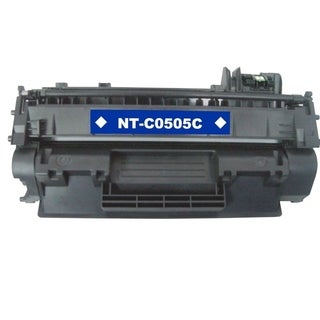 BasAcc Black Toner Cartridge Compatible with HP CE505A