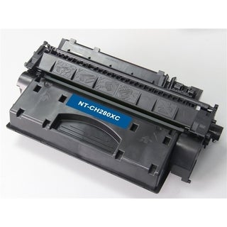 BasAcc Black Toner Cartridge Compatible with HP CF280X 6.9K