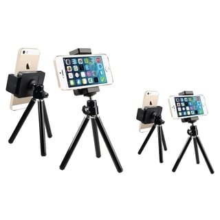 INSTEN Black Tripod Phone Holder (Pack of 2)
