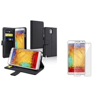 INSTEN Stand Phone Case Cover/ Screen Protector for Samsung Galaxy Note III N9000