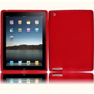 BasAcc Red Silicone Case Apple iPad 3/ iPad HD