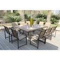 Wellington 11-piece Outdoor Dining Set