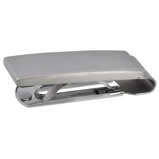 Vance Co. Men's Titanium Rectangular Money Clip
