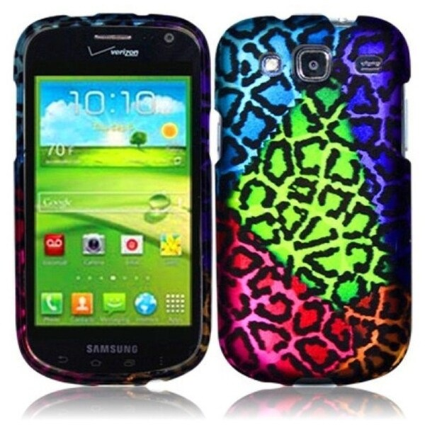 INSTEN Sensational Leopard Phone Case Cover for Samsung i425 Godiva