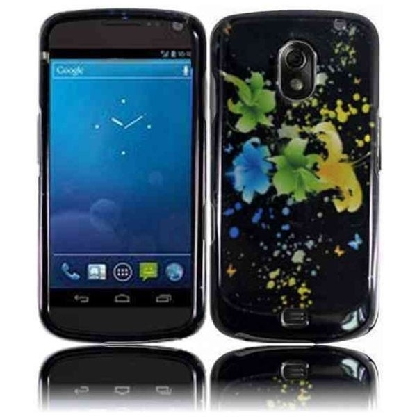 INSTEN Magic Flowers Phone Case Cover for Samsung i515 Galaxy Nexus