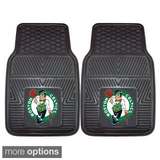 NBA Boston Celtics, Chicago Bulls, Los Angeles Lakers Heavy Duty 2-piece Vinyl Car Mats