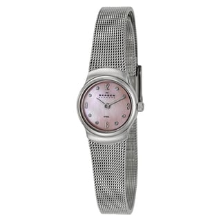 Skagen Women's 'Mesh' Stainless Steel Japanese Quartz Watch