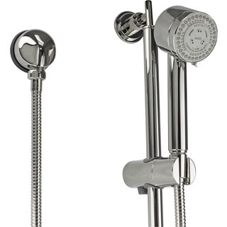 Jado New Haven Platinum Nickel Hand Shower with Adjustable Bar
