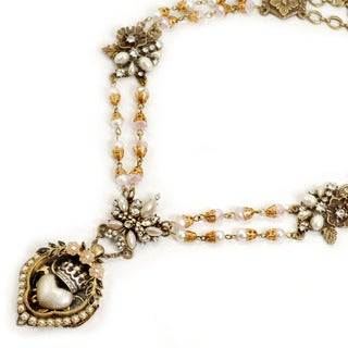 Sweet Romance Sacred Heart Shrine Necklace