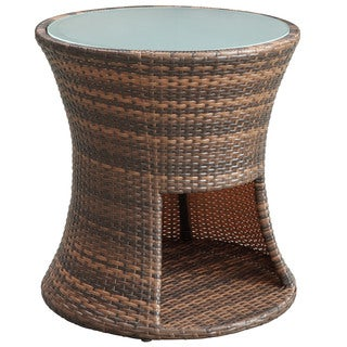 Strum Rattan Outdoor Patio Side Table