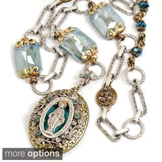 Sweet Romance Queen of Miracles Locket Necklace