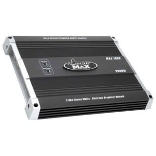 Lanzar MXA1600 2000 Watts Mono Block MOSFET Power Amplifier (Refurbished)