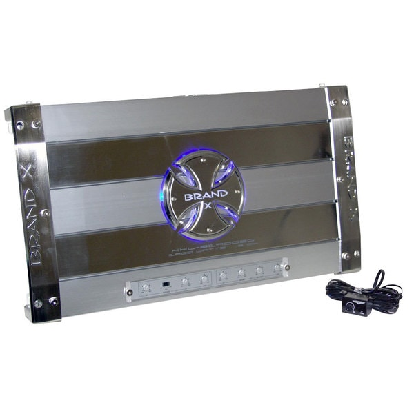 Brand X XXL319003D 1900 Watt 3 (3/2/1) Channel Hybrid Mosfet/ Digital Amplifier (Refurbished)