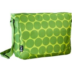 Wildkin Laptop Messenger Bag Big Dots Green