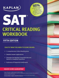 Kaplan SAT Critical Reading (Paperback)