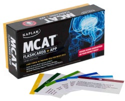 Kaplan MCAT Flashcards: Cards in every MCAT science subject: Behavioral Sciences, Biochemistry, Biology, General Chem... (Cards)