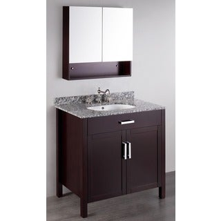 Bosconi Contemporary 36-inch Single Vanity