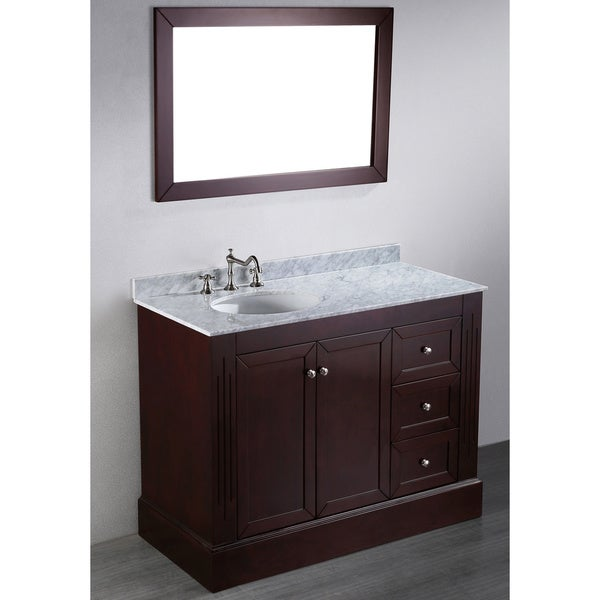 45-inch Bosconi Contemporary Single Vanity