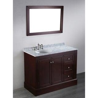 45-inch Bosconi Contemporary Single Vanity