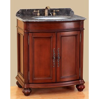 Bosconi T-3732 31-inch Classic Single-sink Bathroom Vanity