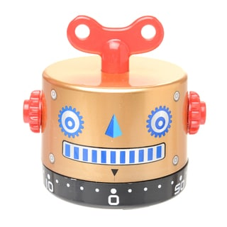 Gold Robot Kitchen Timer