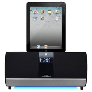 PyleHome PIPDK78 FM Receiver Radio w/ iPod/iPad/iPhone Docking Station & Alarm Clock (Refurbished)