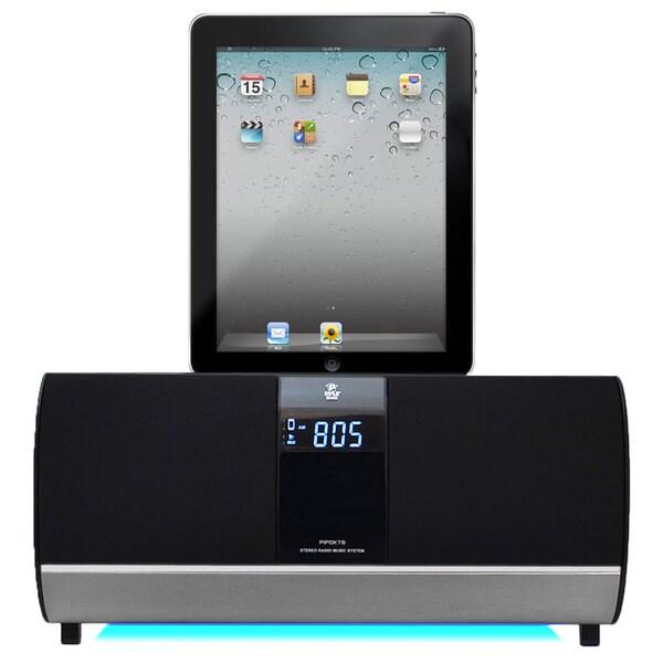PyleHome PIPDK78 FM Receiver Radio w/ iPod/iPad/iPhone Docking Station & Alarm Clock (Refurbished)