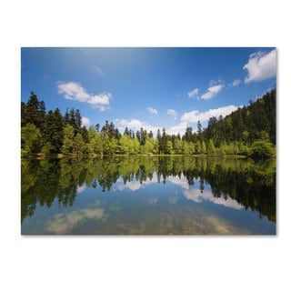 Philippe Sainte-Laudy 'Lake Maix' Canvas art