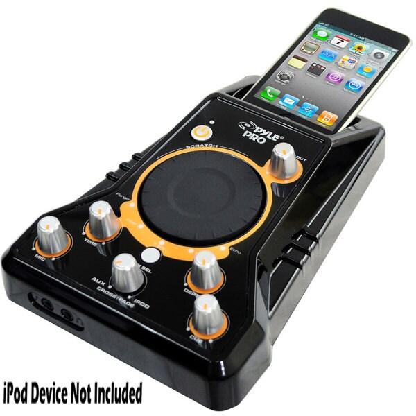 PylePro PDJSIU100 I Mixer Ipod DJ Player w/ DJ Scratch And Sound Effects (Refurbished)