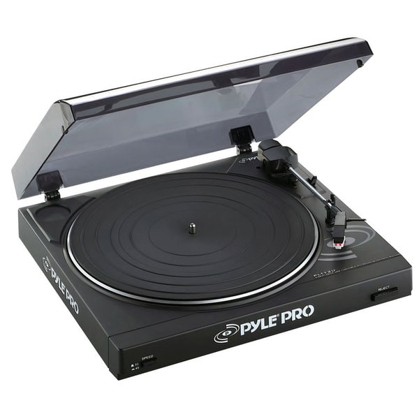 Pyle PLTTB2U Professional Belt Drive Turntable with USB Interface (Refurbished)