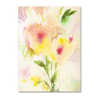 Sheila Golden 'Primrose Reflection' Canvas Art