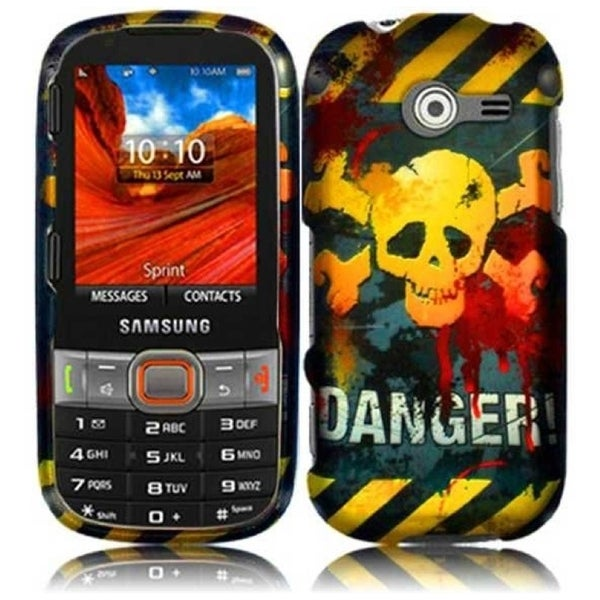INSTEN Danger Phone Case Cover for Samsung Array/ Montage M390