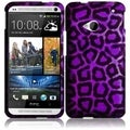 BasAcc Purple Leopard Case for HTC One M7