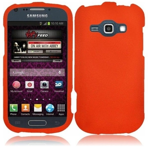 INSTEN Rubberized Hard Plastic Snap-on Phone Case Cover for Samsung Galaxy Prevail 2 Boost Mobile/ Ring Virgin Mobile