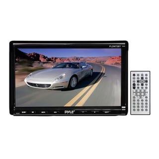 "Pyle PLDN72BT 7"" 2-Din Touchscreen Multimedia Receiver DVD/VCD/CD MP3/MP4 USB/SD-MMC CARD AM/FM Bluetooth (Refurbished)"