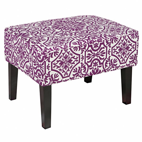 Angelo Home Brighton Hill Provence Purple Small Bench