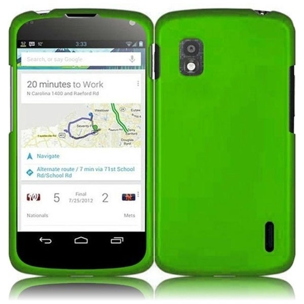 BasAcc Neon Green Case for LG Nexus 4 E960