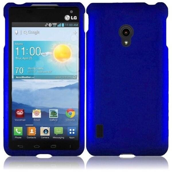 INSTEN Blue Phone Case Cover for LG VS870 Lucid 2