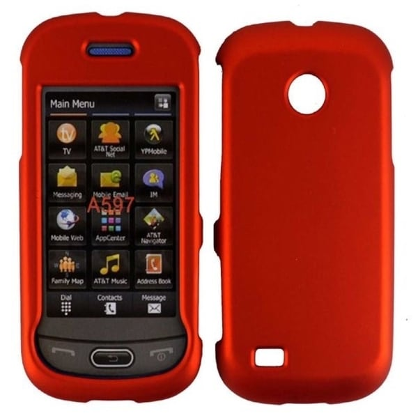 INSTEN Orange Phone Case Cover for Samsung Eternity 2 A597