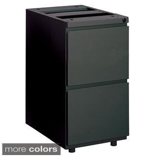 Mayline Steel Lidless 2-drawer File Pedestal