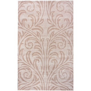 nuLOOM Handmade Marrakesh Damask Wool Rug (6' x 9')