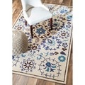 nuLOOM Hand-tufted Marrakesh Suzani Wool Rug (6' x 9')