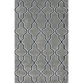 nuLOOM Modern Moroccan Trellis Lattice Grey Rug (7'6 x 9'6)