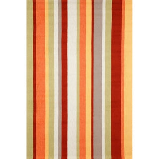 """Bold Upright Outdoor Rug (5'X7'6"""")"""