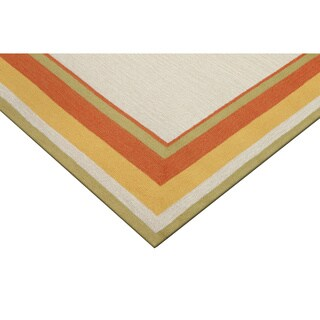 "Multi Frame Outdoor Rug (7'6""X9'6"")"